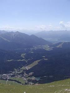 2003_Leu 03 Blick auf Leutasch und Seefeld