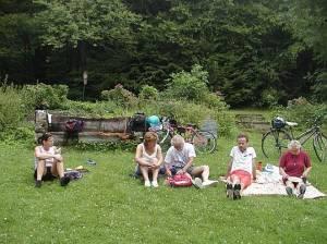 2004_Sommer-Radtour 1 2004